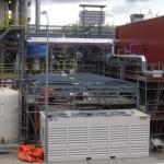 Maatwerk overkapping op industrieterrein
