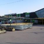 Winkelwagen stalling tuincentrum in Nederland